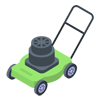 Grass Cutting Icon